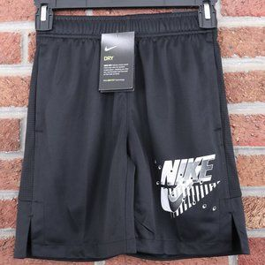 Boys Nike Shorts * Black / White * NWT Small